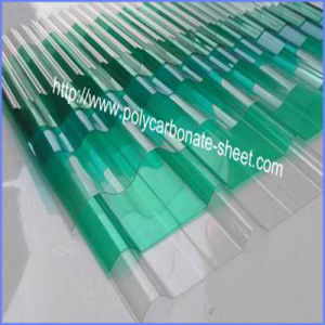 Construction Polycarbonate Corrugated Sheet with UV Coating High Quality pictures & photos