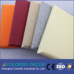 Noise Absorbing Fabric Acoustic Clothing Wall Panel for Interior Decoration pictures & photos