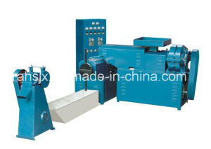 Double Screw 70kg/H Plastic Film Granulator Machine Line