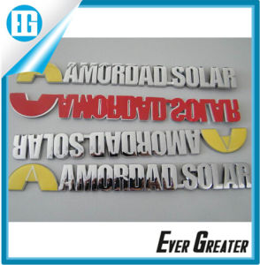 High Quality Cheap Custom Plastic Emblem Logo pictures & photos