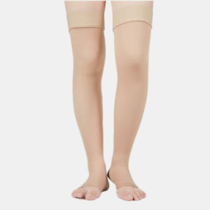 63698b360f033b Chinese Factory Nylon and Spandex Non-Slip Graduated Thigh High Compression  Stockings