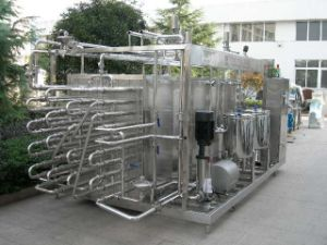 Full Automatic Tube in Tube Juice Pasteurizer Machine pictures & photos
