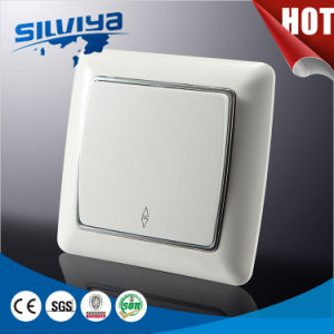 White Color High Quality Electric European Wall Switch pictures & photos