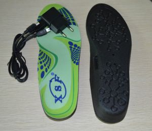 Battery Powered Foot Warmer Heated Shoe Insole