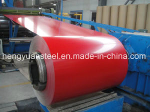 Various Colors and Flowers PPGI Prepainted Galvanized and Galvalume Steel Coil pictures & photos