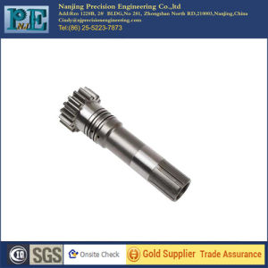 Custom Stainless Steel CNC Machining Pinion Shafts
