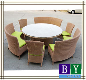 Hot-Selling Rattan Table and Chair, Dining Room Furniture, Home Furniture