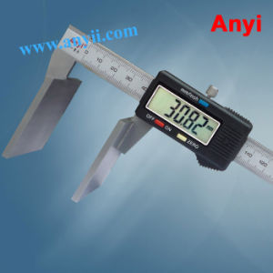 Broad Face Wire Rope Caliper Wide Jaw Vernier Caliper pictures & photos
