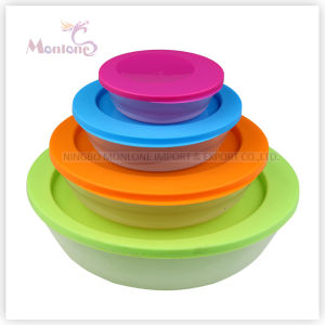 4pack Microwave Storage Food Container (190ml 450ml 1L 2.2L) pictures & photos