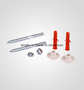 Sanitary Accessories- Screw Sets (RED) -10PCS