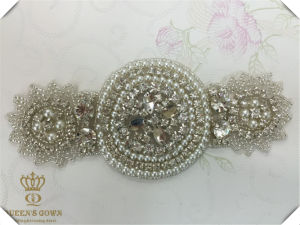 Beautiful Bride Wedding Dress Rhinestone Trim Belts, DIY Accessories
