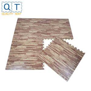 Eva Foam Soft Wood Grain Floor Mat
