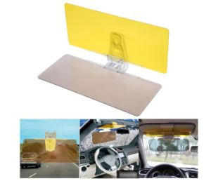 Interior Accessories Universal Car Sun Visor Hd Anti Sunlight Dazzling Goggle Day Night Vision Driving Mirror Uv Fold Flip Down Clear View Ideal Gift For All Occasions Interior Mirrors