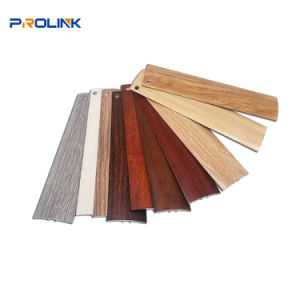 China Aluminum Tile Border Trim Strip Flat Door Threshold For