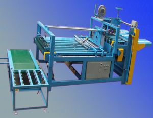 Semi-Auto Corrugated Carton Box Gluing Machine