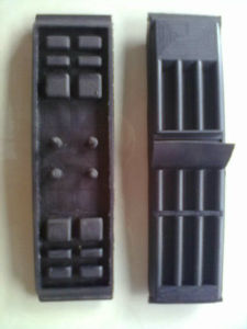 Spare Part Rubber Pad for Bavelloni Gemy Glass Edger
