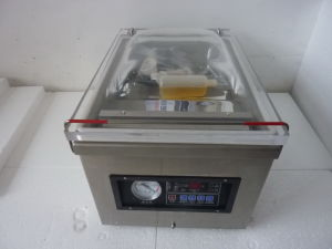 Table Type Vacuum Packaging Machine Saeling Machinery pictures & photos