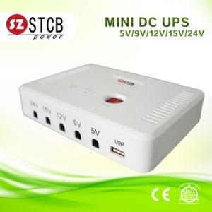 5V/9V/12V/15V/24V Portable Mini UPS with 6000mAh/12000mAh Batteries