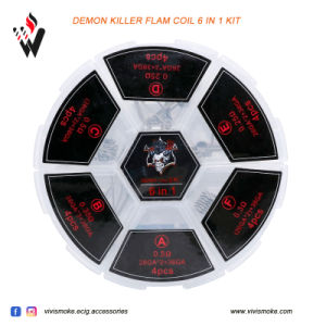 2017 Vivismoke Newest Released Demon Killer Flam Coil 6 in 1