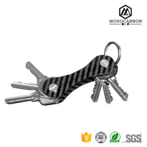 Personalized Key Chain Super Fashion Carbon Fiber Key Holder Organizer for Wholesale pictures & photos