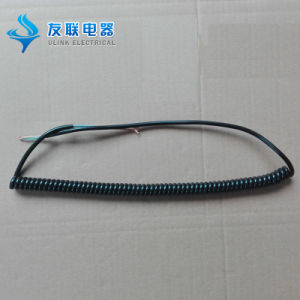 High Flexibility and Retractable Spiral Coil Spring Cable pictures & photos