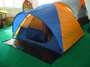 Camping Tent for 2-3 Person Hikking Outdoor Leisure Folding Tent