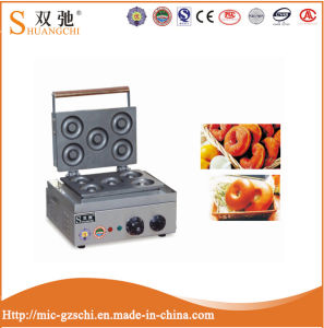 Stainless Steel Electric 5 Holes Donut Making Machines pictures & photos