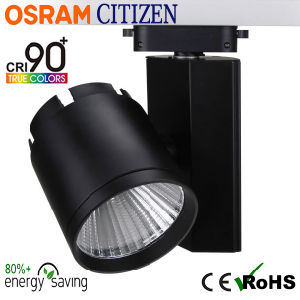 30W Citizen COB LED Tracklight with Osram Transformers