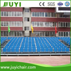 Jy-716 Steel Frame Structure Bleachers Plastic Chair Outdoor Bleachers pictures & photos