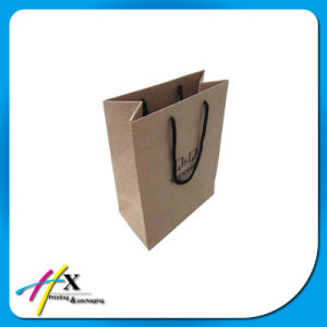Wholesale Handmade Custom Cosmetic/Shoes Clothing Kraft Paper Gift Packaging Bag pictures & photos