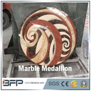 Water Jet Marble Medallion for Floor Tile and Wall Tile