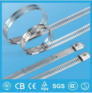 Multi Lock Ladder Type Stainless Steel Cable Tie pictures & photos