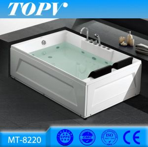 Mt 8220 Cheap 1800cm 2 Person Indoor Hot Tub Air/Whirlpool Massage Sex  Corner