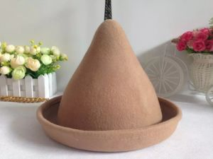 Wool Felt Nipple Top Hat for Children Witch Cap for Magic