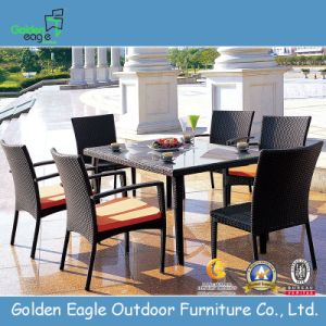 PE Rattan Water Proof Restaurant Tables and Chairs