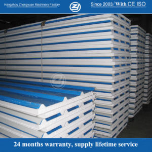 Roll Forming EPS Roof Sandwich Panel pictures & photos