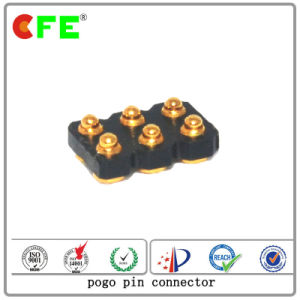 Gold Plate Spring Loaded Connector Pin with High Temperature Plastic pictures & photos