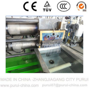 Waste Plastic Pelletizer for Pet Flakes Recycling Granulating pictures & photos