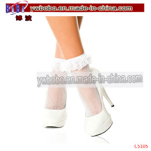 Sexty Elastic Ultrathin Transpatent Lace Ankle Socks Anklets (C5205) pictures & photos