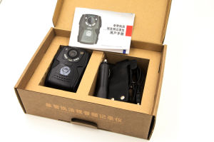 Police Body Worn Camera Night Vision with 6 Pieces Infrared Lights and Laser Location