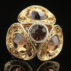 New Design Fashion and Alloy Jewelry Lady Ring (2AR-058)