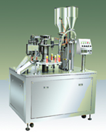 Toothpaste Filling & Sealing Machine pictures & photos