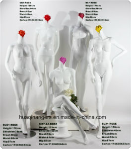2017 New Flower Head Famale Fiberglass Mannequins, Fashion Famale Mannequins pictures & photos