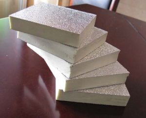 Fire Retardant Expanded Polystyrene XPS Board/Foil Board pictures & photos