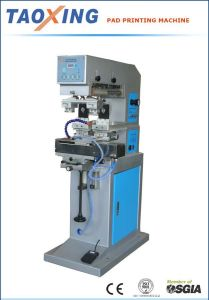 Pneumatic Two Color Pad Printing Machine With Shuttle