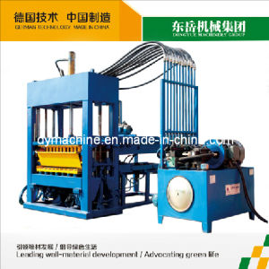 Indian Concrete Brick Plant|Interlock Block Machine|Interlock Cement Paving Stone Qt4-15 Dongyue pictures & photos