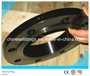 Carbon Steel A105 Forged Steel Flange with Black Painting pictures & photos