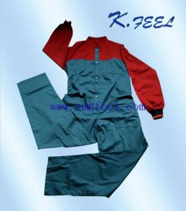 2016 fashion Industrial Work Coverall Uniforms (KFLTF-026)