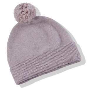Warm Knitted Hat Brown
