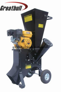 6.5HP Gasoline 4 Stroke Industrial Wood Rotary Chipper (GBD-601A)
